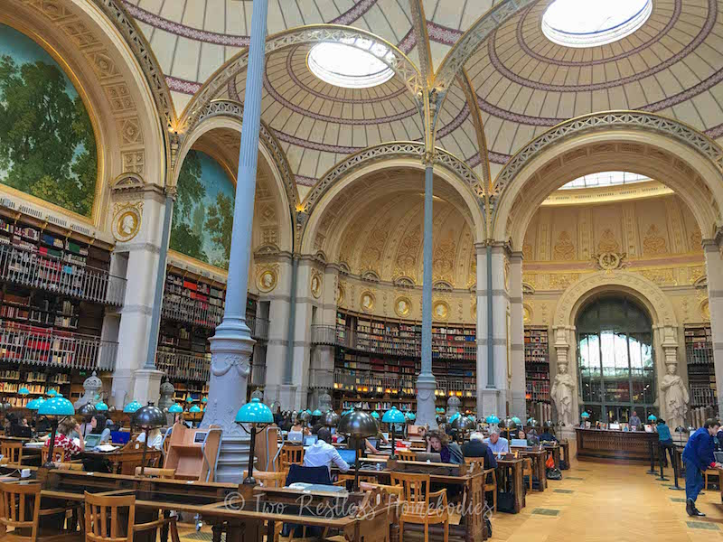 Richelieu library free things to do in paris