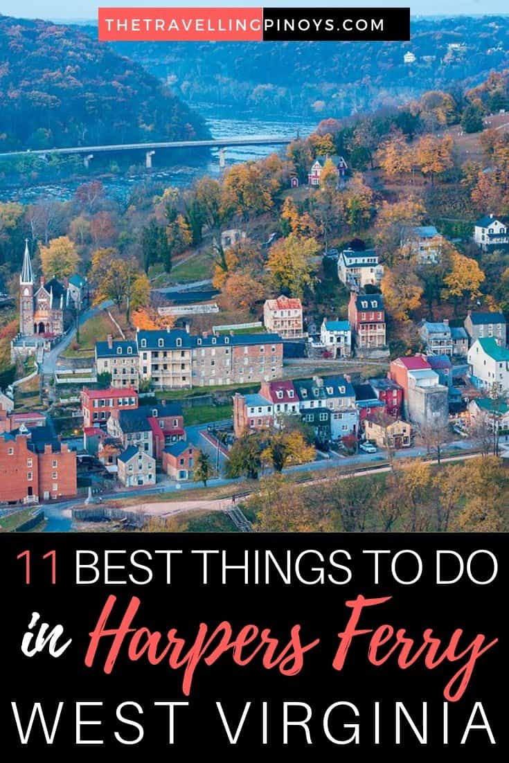 11 Things To Do in Harpers Ferry, West Virginia
